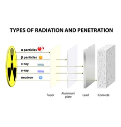 Types of radiation vector