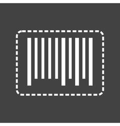 Cutting Bar Code vector image