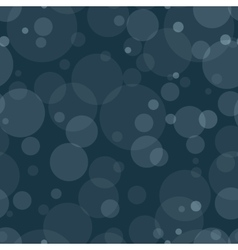 Seamless Pattern with Transparent Circles vector image vector image