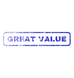 Great value rubber stamp vector