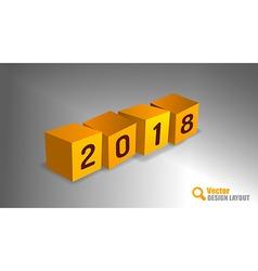 2018 pf cubes vector