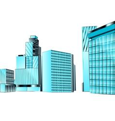 Financial district vector