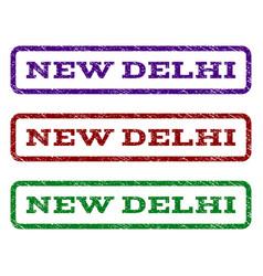 New delhi watermark stamp vector