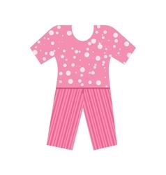 Pyjamas suit vector
