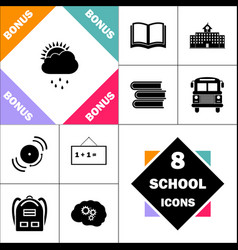raindrops computer symbol vector image