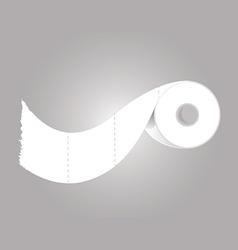 toilet paper vector image vector image