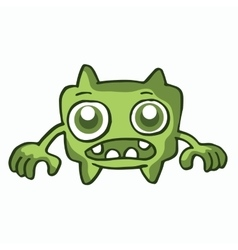 Wide monster collection cartoon for kids vector