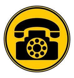 Phone button vector