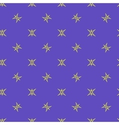 Stars geometric seamless pattern 4806 vector