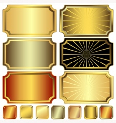 collection frame vector image vector image
