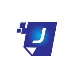 Digital paper initial j vector