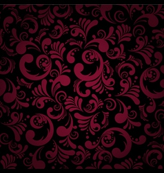 elegance seamless floral vector image