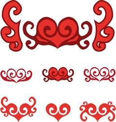 Heart symbols vector