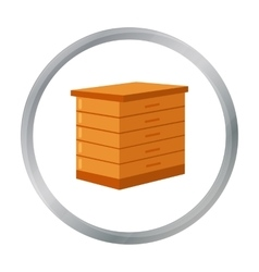 Apiary icon of for web and vector