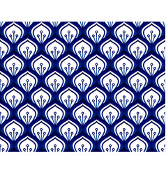 Porcelain pattern seamless vector