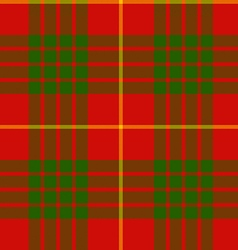 Clan cameron tartan seamless pattern vector