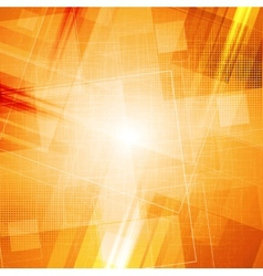 Bright grunge tech background vector image vector image