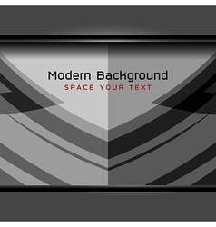 Grey modern background vector