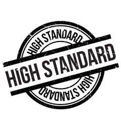 High standard stamp vector
