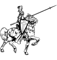 Mg00031 mounted knight01 vector