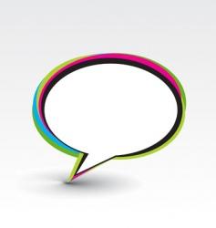 messenger window vector image