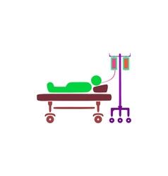 Patient icon vector