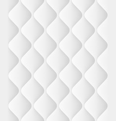 quilted seamless pattern with waves eps 10 vector image vector image