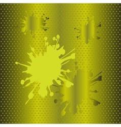 Splash halftone green background vector