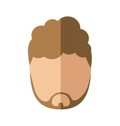 Man male head person icon vector