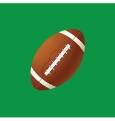 balls green vector image