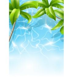 tropical theme vector image