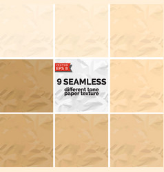 Different tone paper texture vector