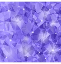 Abstract Purple Polygonal Background vector image