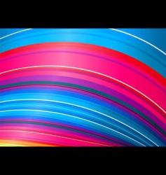 candy rainbow twist vector image vector image