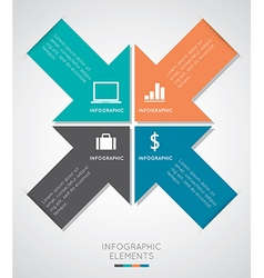 Modern Infographics vector image vector image