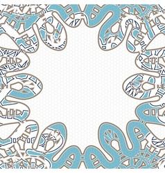 Snake background vector