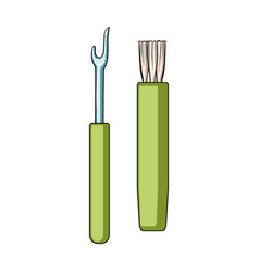 tools for sewingsewing or tailoring tools kit vector image