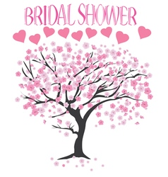 Bridal shower vector