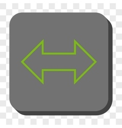 Exchange horizontal rounded square button vector