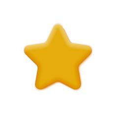Mate yellow star vector