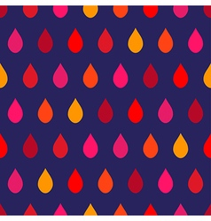 Red tone rain navy blue background vector