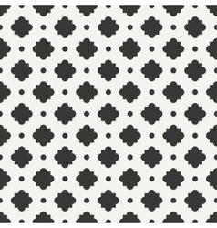 Geometric line monochrome lattice seamless arabic vector