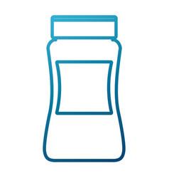 Coffee ground jar vector