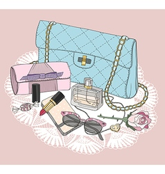 Fashion essentials vector