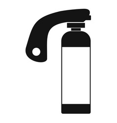 Fire extinguisher icon simple style vector