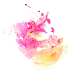 Abstract hand drawn watercolor background s vector