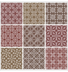 Seamless print patterns vector