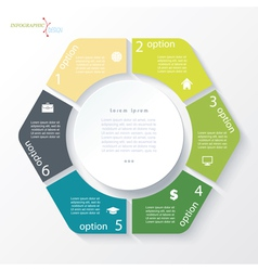 Business concept design with circle vector