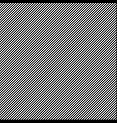 Diagonal lines seamless black and white pattern vector