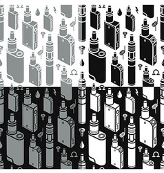 Endless vape background vector image vector image